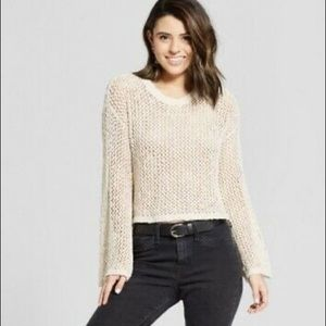 Xhilaration Mesh Sweater